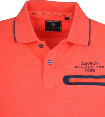 NZA Waipaoa Poloshirt Oranje
