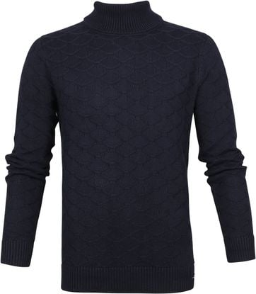 NZA Wairarapa Turtleneck Navy