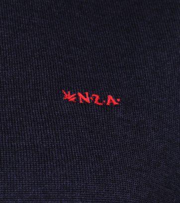 NZA Wairongomai Rollkragen Pullover Navy