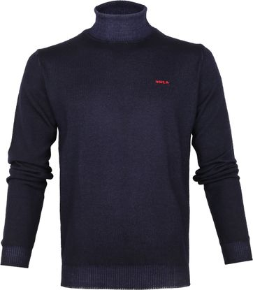 NZA Wairongomai Turtleneck Pullover Navy