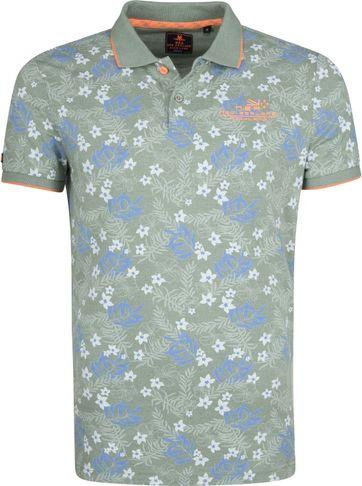 NZA Waitoa Poloshirt Print Green