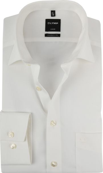 Olymp 7 Sleeve Wedding Shirt Ecru