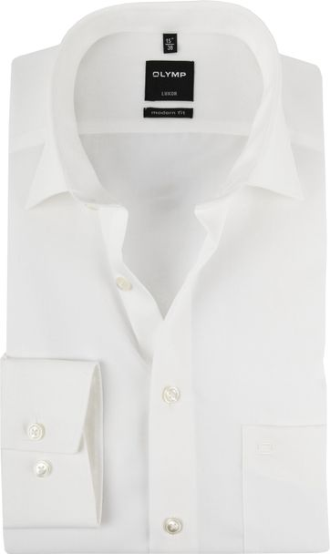 Olymp 7 Sleeve Wedding Shirt Ecru