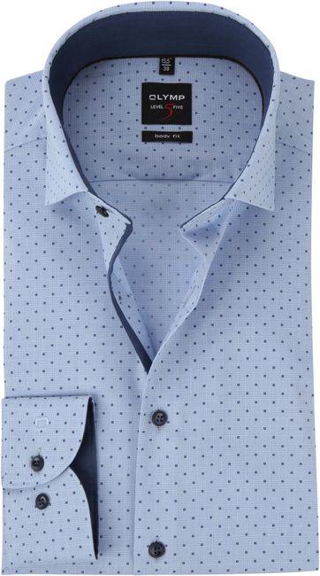 OLYMP Blue Shirt BF Level 5
