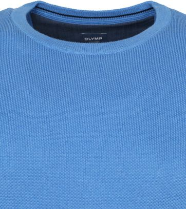 Olymp Casual Pullover Blue