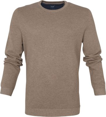 Olymp Casual Pullover Brown
