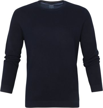 Olymp Casual Pullover Donkerblauw