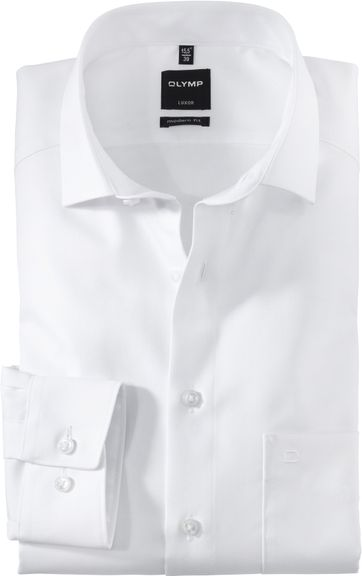 OLYMP Cotton Shirt Luxor White