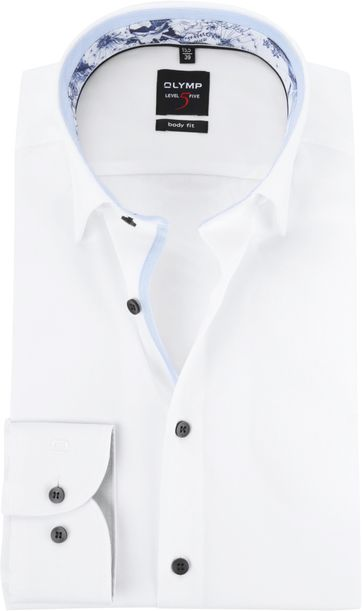 OLYMP Hemd BF Level 5 Weiß