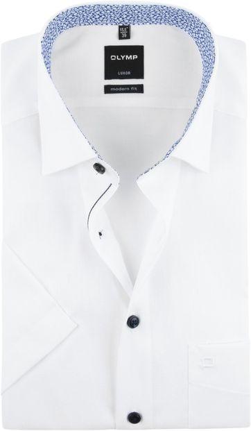 OLYMP Hemd Kurze Ärmel Weiß