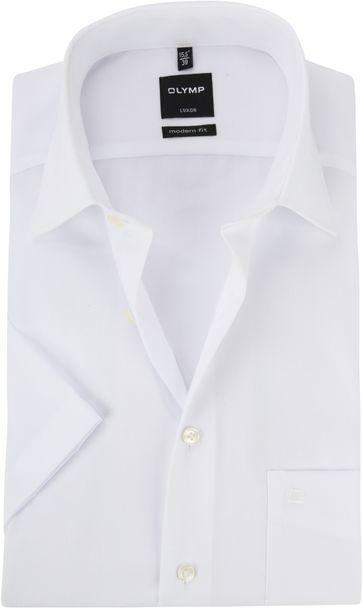 OLYMP Hemd Luxor SS Weiß