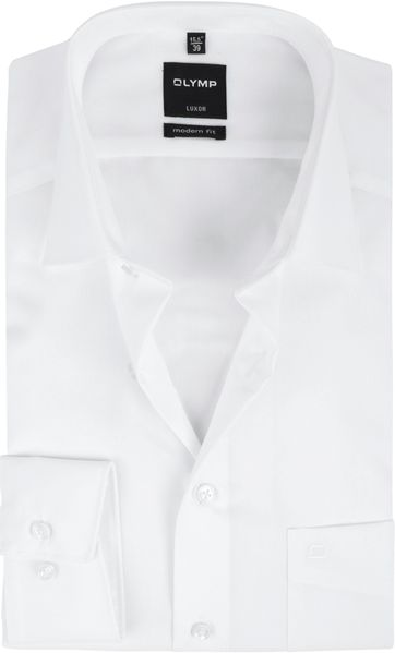 Olymp Hemd Wit