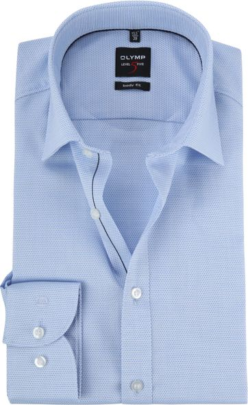 OLYMP Level 5 BF Overhemd Blauw