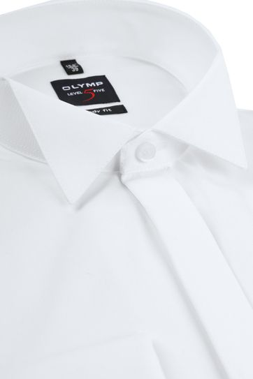 OLYMP Level 5 Smokingshirt SL7 Wit