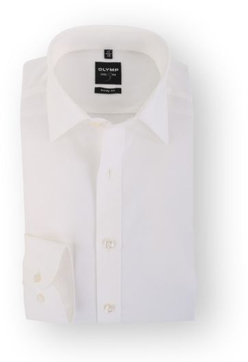 OLYMP Level Five Body Fit Hemd Off White