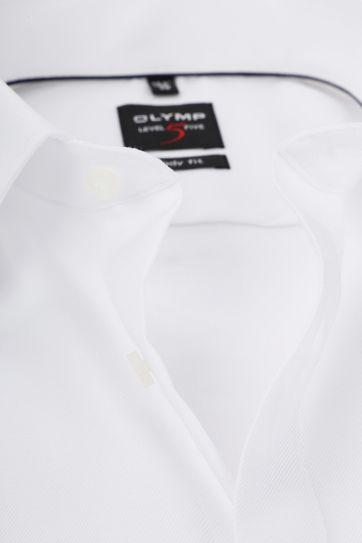 OLYMP Level Five Hemd Weiß