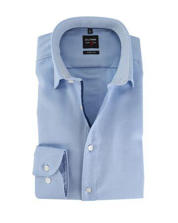 OLYMP Level Five Shirt Body Fit Lichtblauw