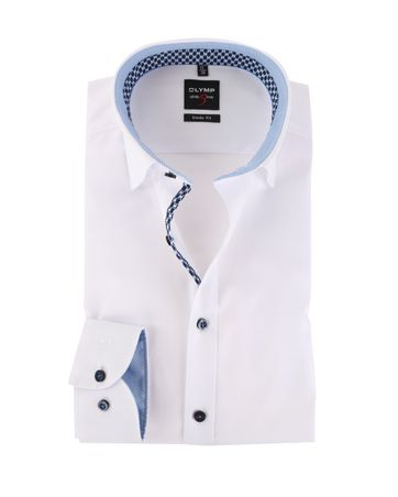 OLYMP Level Five Shirt Body Fit Wit Under Button Down