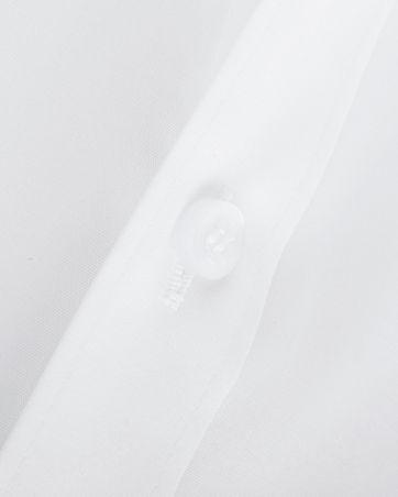 OLYMP Level Five Shirt SL7 Wit Body-Fit Dubbelmanchet