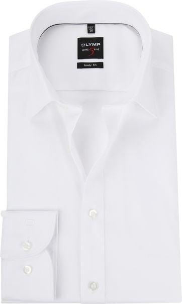 OLYMP Level Five Shirt White