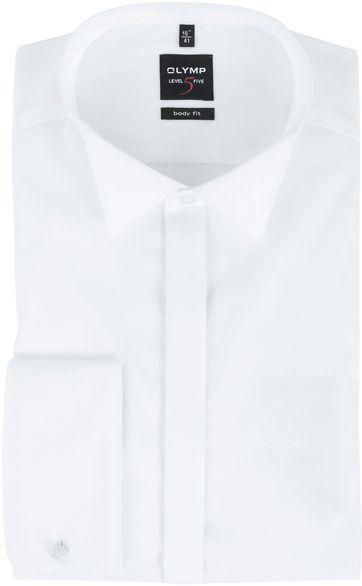 Olymp Level Five Tuxedo Shirt Body Fit White