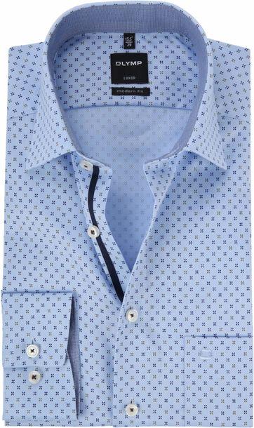 OLYMP Luxor Blau Hemd MF