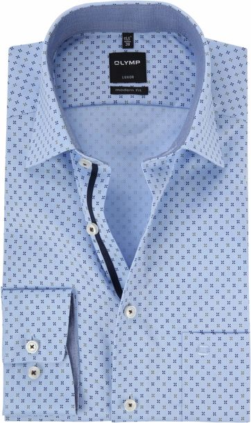 OLYMP Luxor Blue Shirt MF