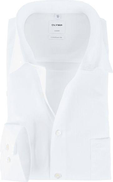 OLYMP Luxor Bügelfrei Hemd Comfort Fit Weiß