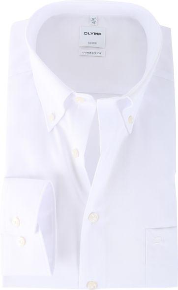 OLYMP Luxor Bügelfrei Hemd Weiß Comfort Fit