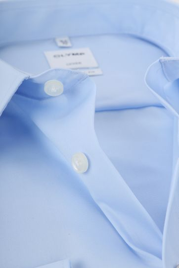 OLYMP Luxor CF Overhemd Lichtblauw SL7 - Blauw maat 46