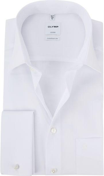 OLYMP Luxor CF Smokinghemd Weiß