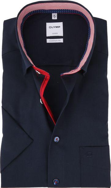 OLYMP Luxor CF SS Navy Shirt