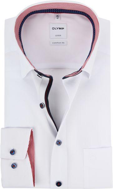 OLYMP Luxor CF White Shirt