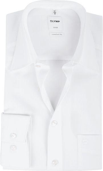 OLYMP Luxor Comfort Fit Hemd Wit