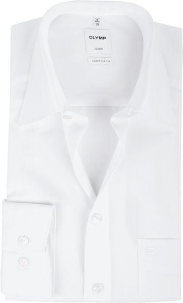 OLYMP Luxor Comfort Fit Overhemd Wit