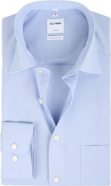 Olymp Luxor Comfort Fit Shirt Blue
