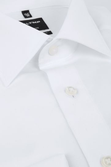Olymp Luxor Double Cuff Shirt White