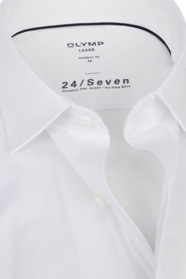 OLYMP Luxor Hemd 24/Seven Weiß