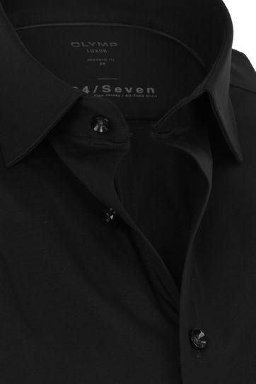 OLYMP Luxor Hemd 24/Seven Zwart