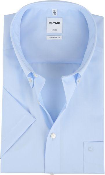OLYMP Luxor Hemd Comfort Fit Blau