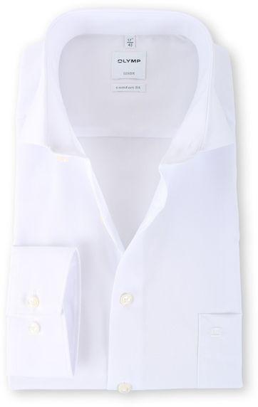OLYMP Luxor Hemd Comfort Fit Cutaway Weiß
