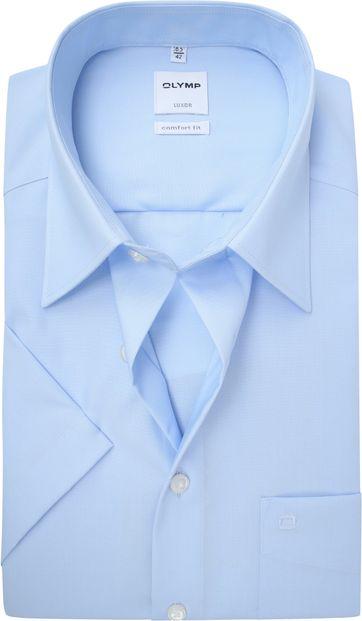 OLYMP Luxor Hemd Comfort-Fit Lichtblauw