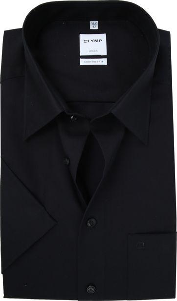 OLYMP Luxor Hemd Comfort-Fit Zwart