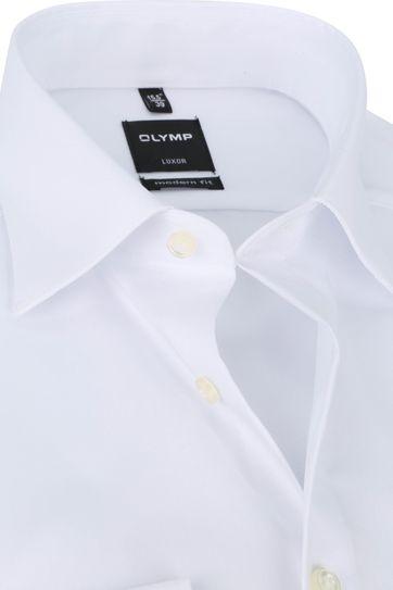 OLYMP Luxor Hemd Einfach Weiß