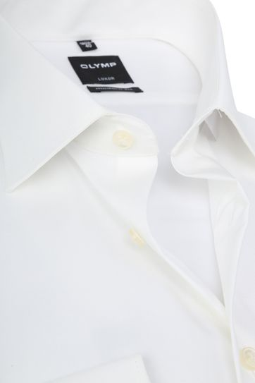 OLYMP Luxor Hemd Gebrochenes Weiß Modern Fit