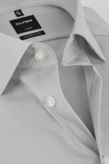 OLYMP Luxor Hemd Modern Fit Grau