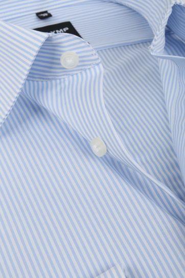 OLYMP Luxor Hemd Modern Fit Hellblau Streifen