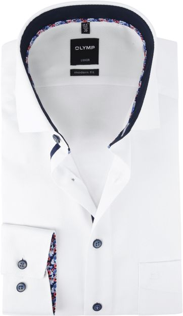 OLYMP Luxor Hemd Weiß