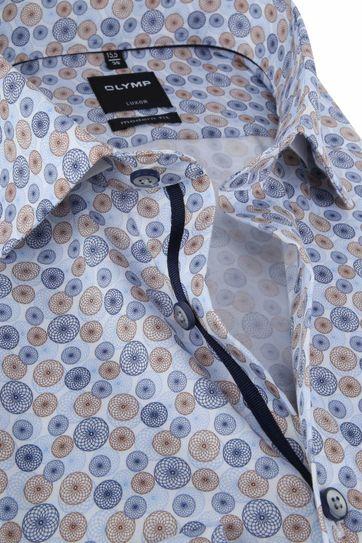 OLYMP Luxor MF Hemd Blau Kreis