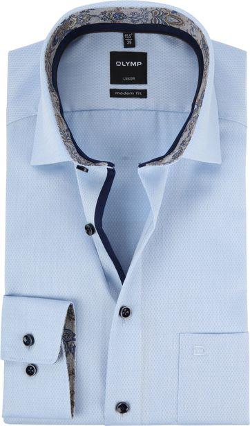 OLYMP Luxor MF Overhemd Blauw